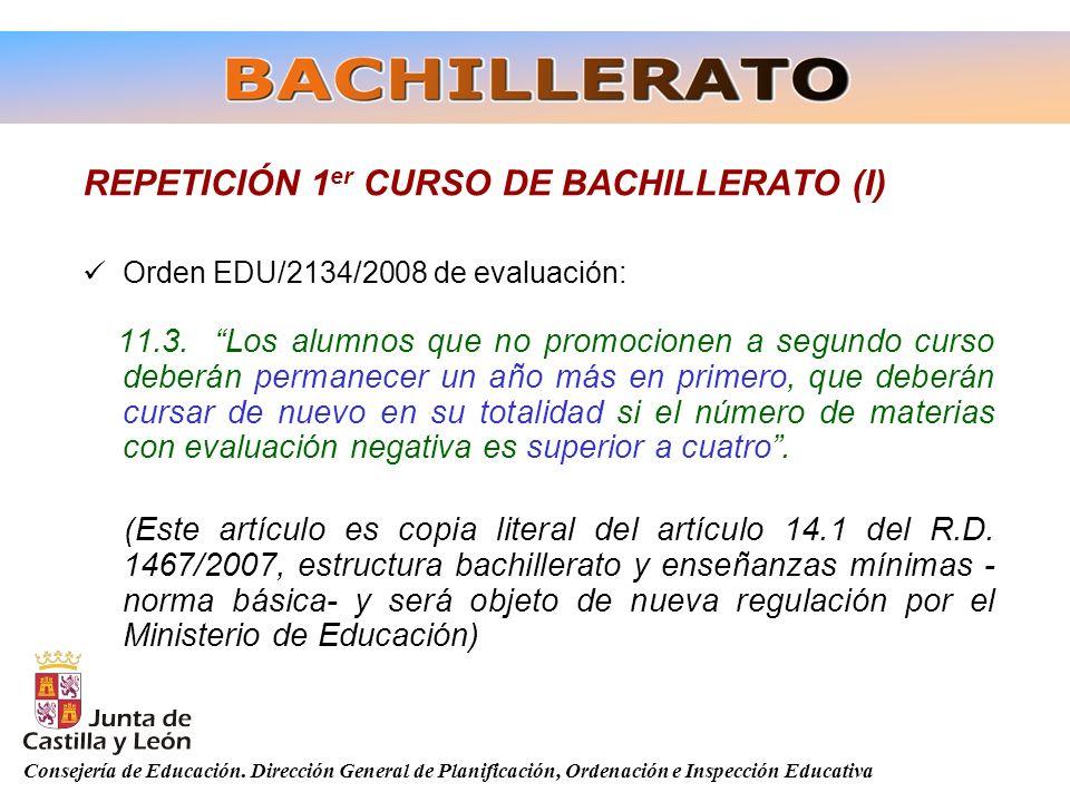 REPETICIÓN 1er CURSO DE BACHILLERATO (I)