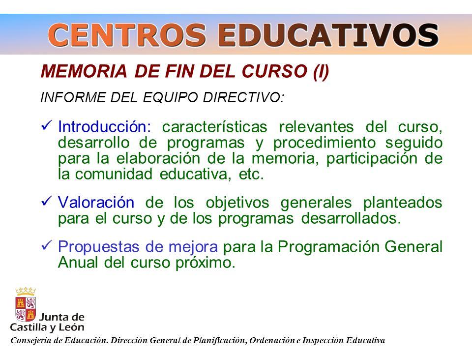 MEMORIA DE FIN DEL CURSO (I)