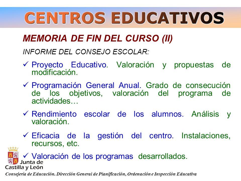 MEMORIA DE FIN DEL CURSO (II)