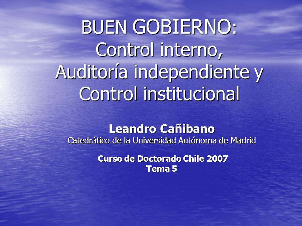 Curso de Doctorado Chile 2007