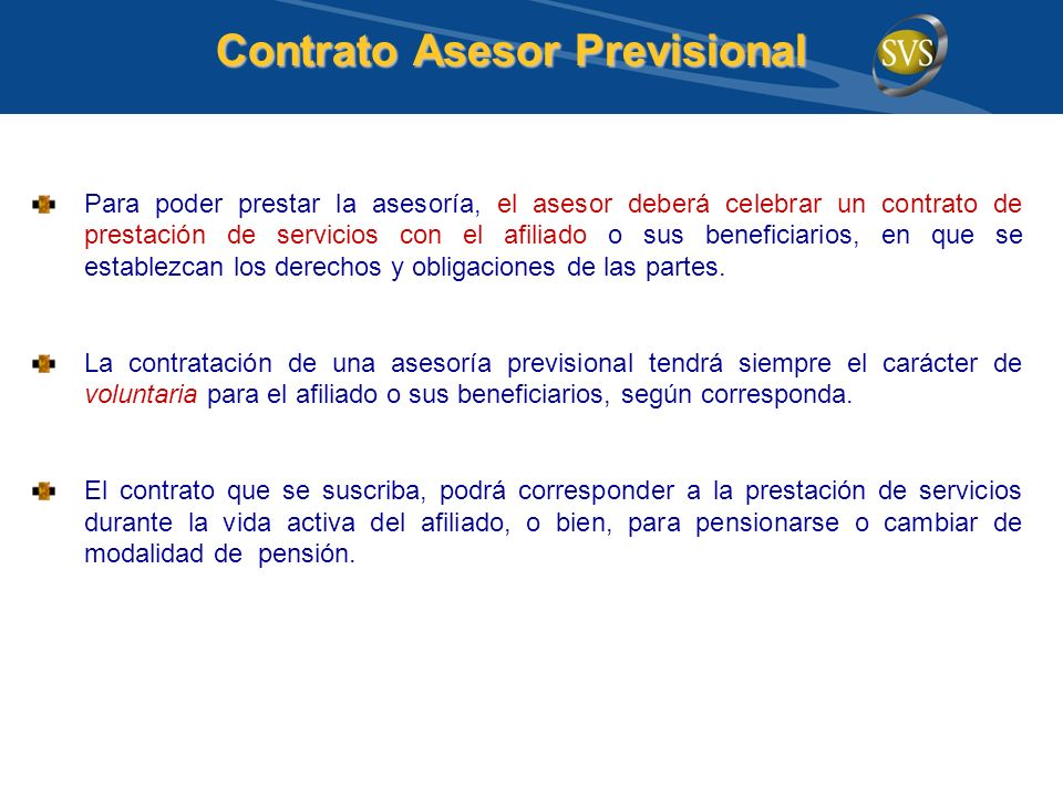 Contrato Asesor Previsional