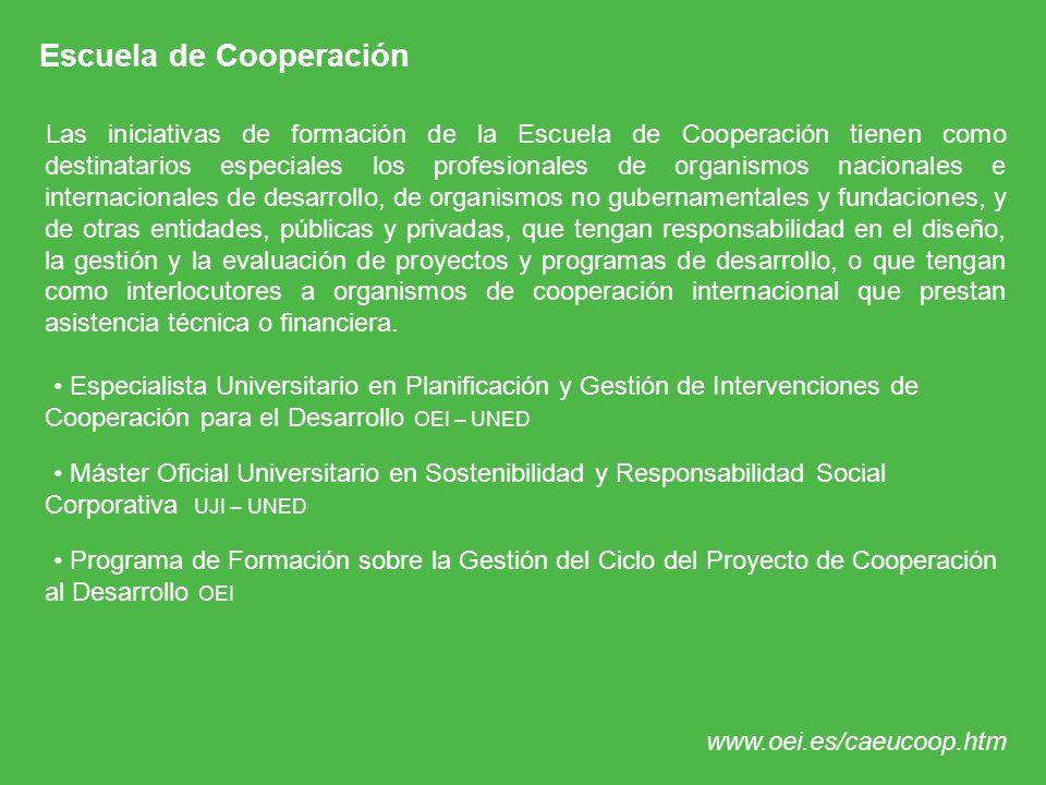 Escuela de Cooperación