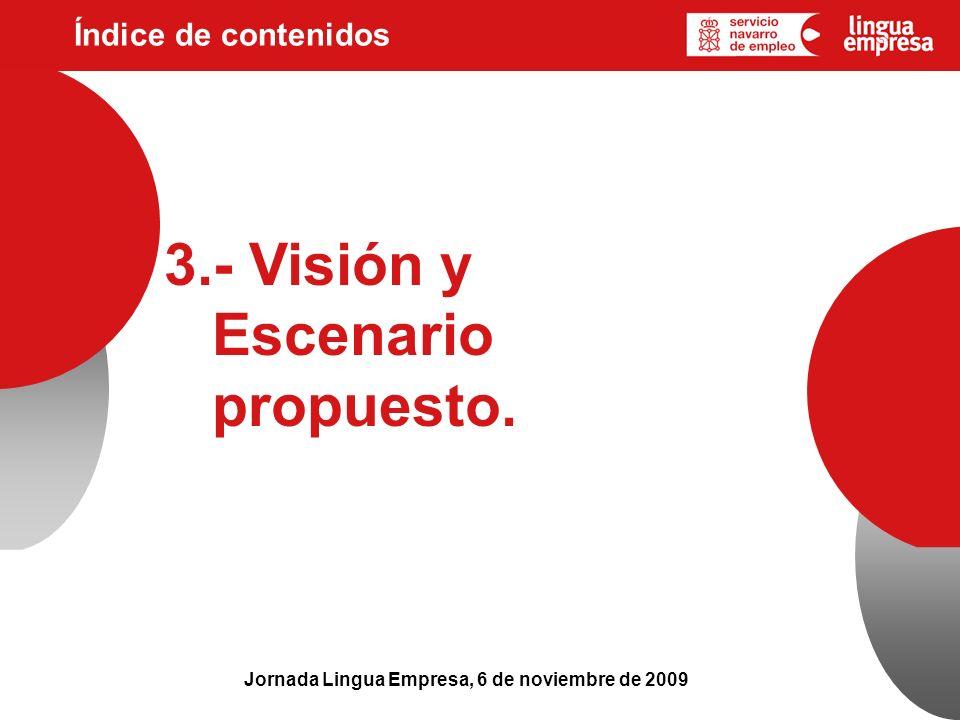 3.- Visión y Escenario propuesto.