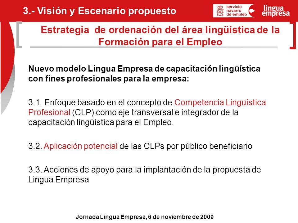 3.- Visión y Escenario propuesto