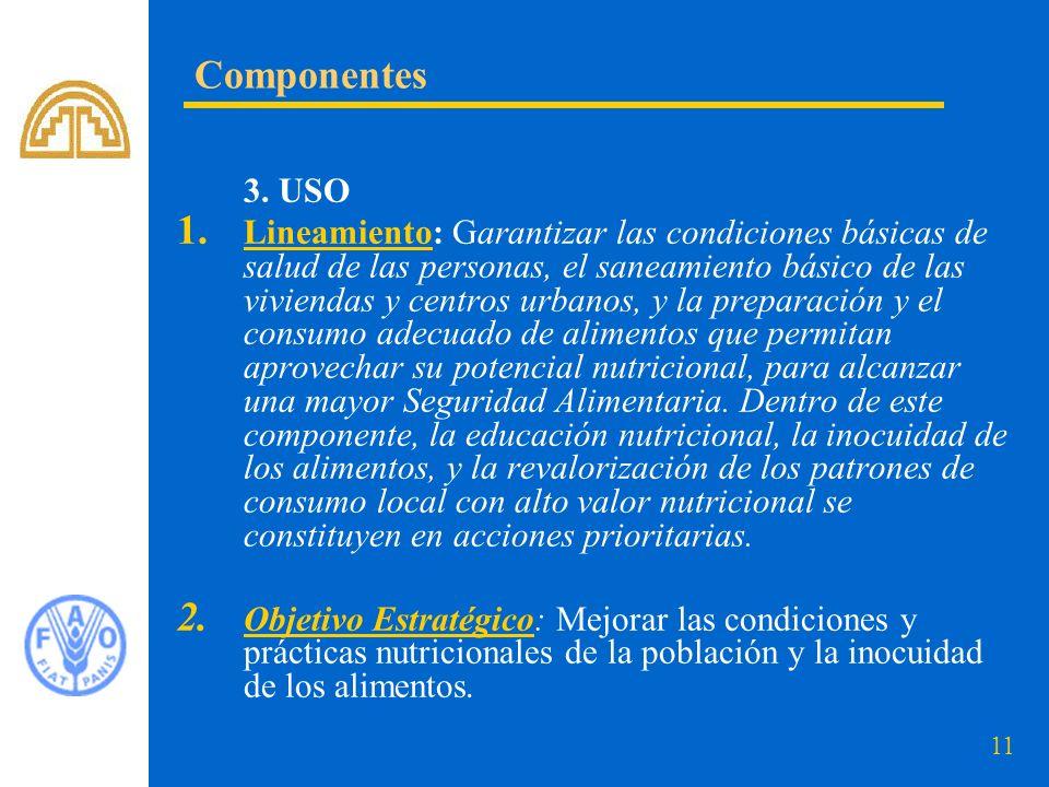 Componentes 3. USO.