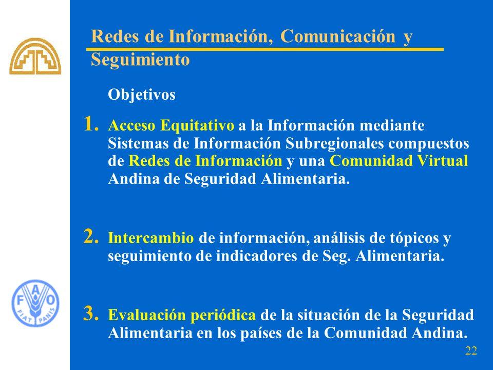 Redes de Información, Comunicación y Seguimiento