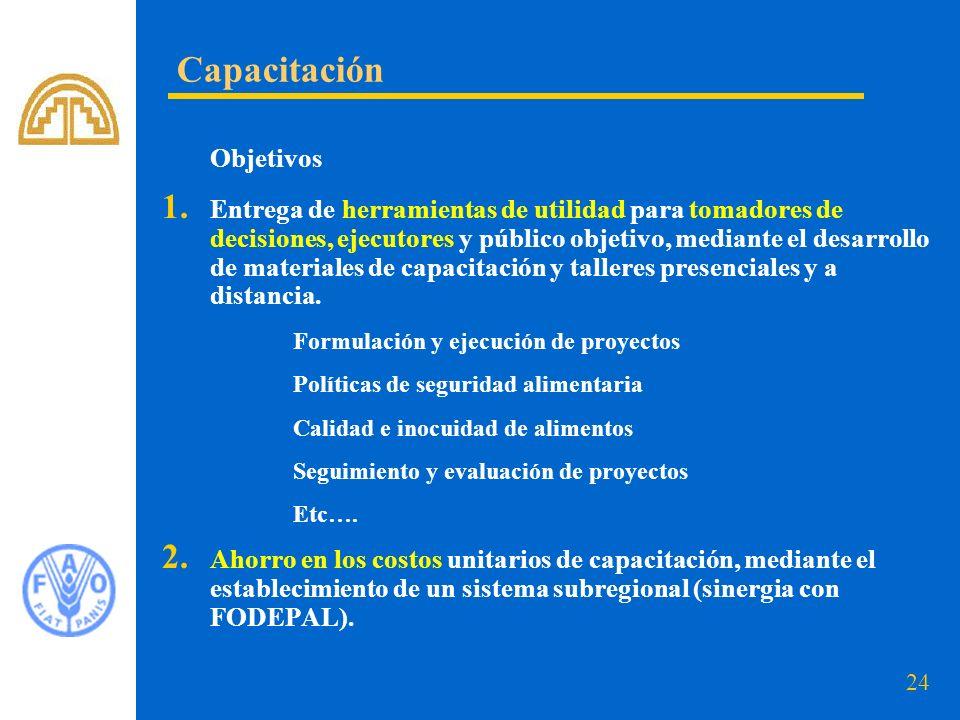 Capacitación Objetivos