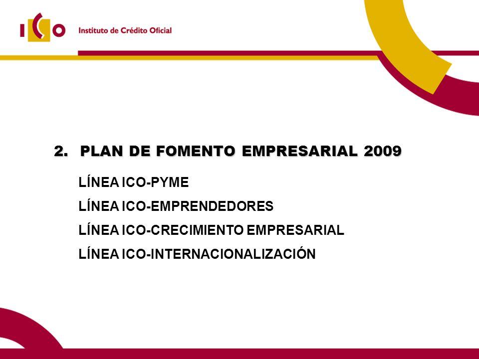 PLAN DE FOMENTO EMPRESARIAL 2009