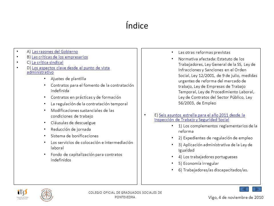 COLEGIO OFICIAL DE GRADUADOS SOCIALES DE PONTEVEDRA
