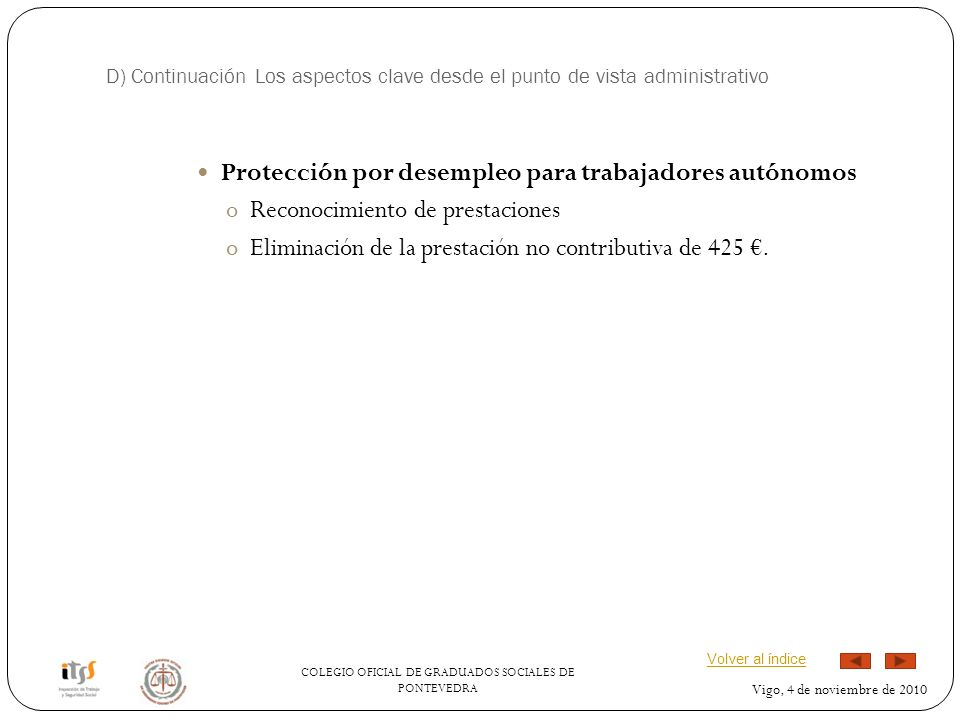 Protección por desempleo para trabajadores autónomos