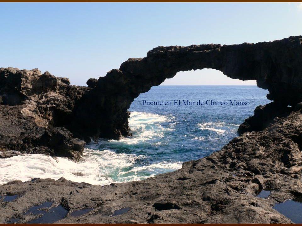 Puente en El Mar de Charco Manso