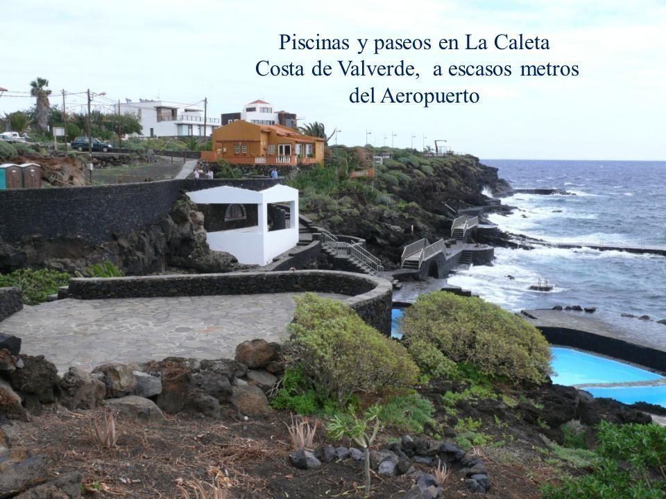 Piscinas y paseos en La Caleta