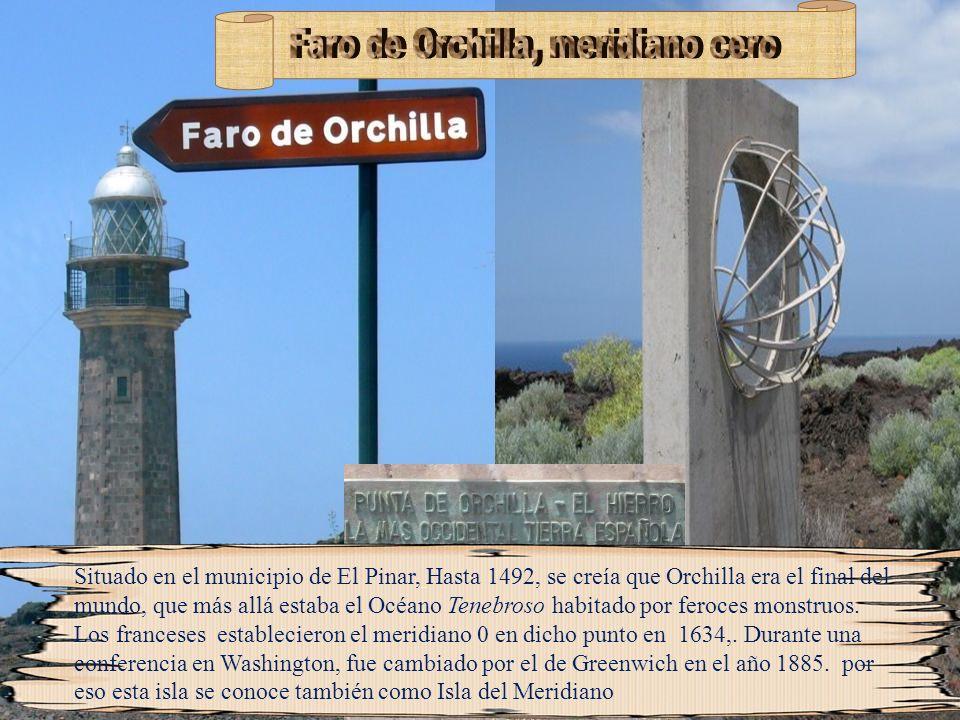Faro de Orchilla, meridiano cero