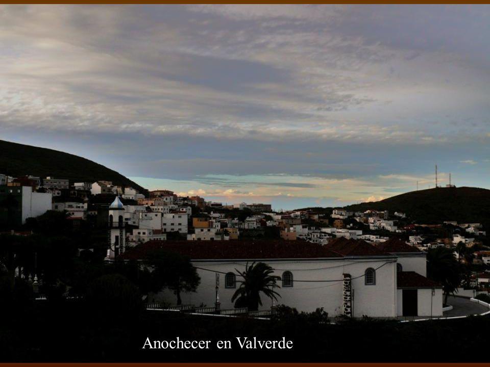 Anochecer en Valverde