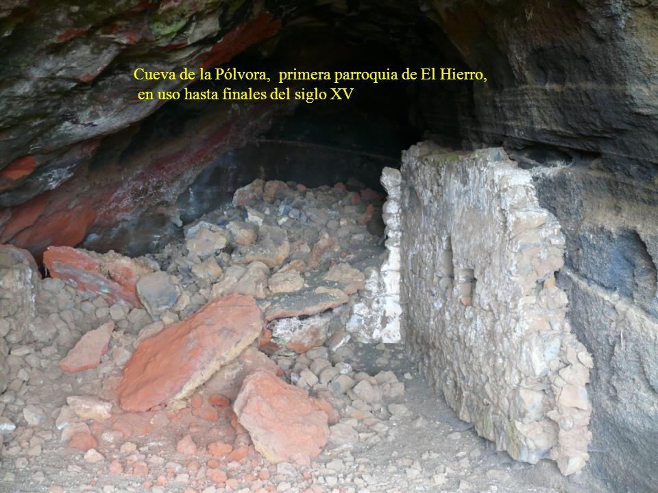 Cueva de la Pólvora, primera parroquia de El Hierro,