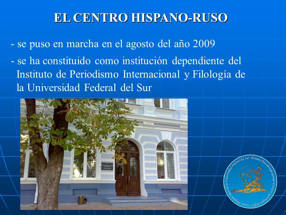EL CENTRO HISPANO-RUSO