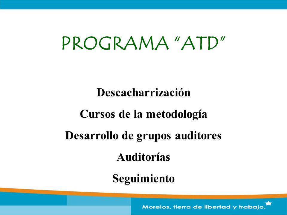 Cursos de la metodología Desarrollo de grupos auditores