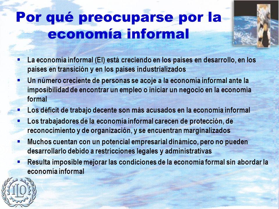Por qué preocuparse por la economía informal