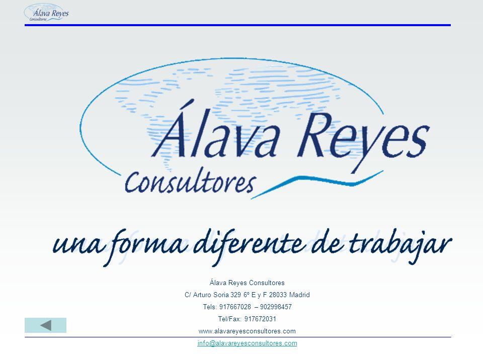 Álava Reyes Consultores C/ Arturo Soria 329 6º E y F 28033 Madrid