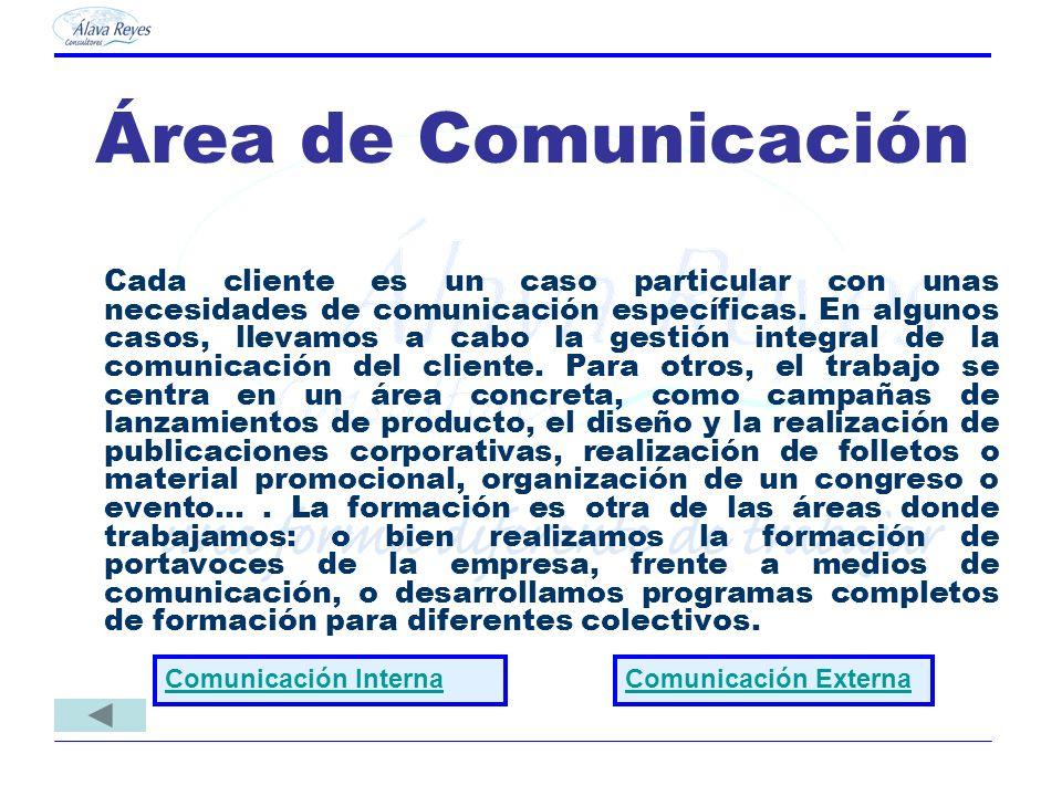 Área de Comunicación