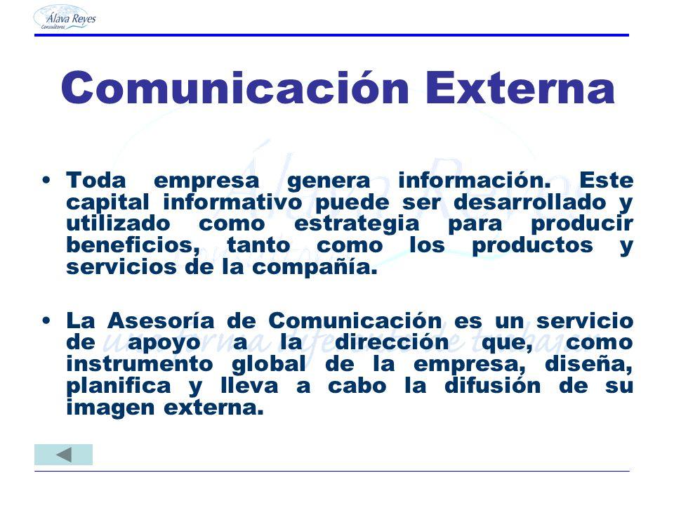 Comunicación Externa