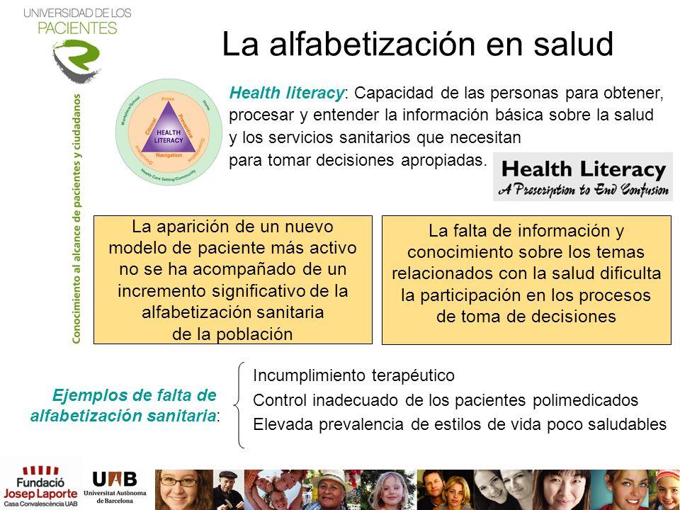 La alfabetización en salud