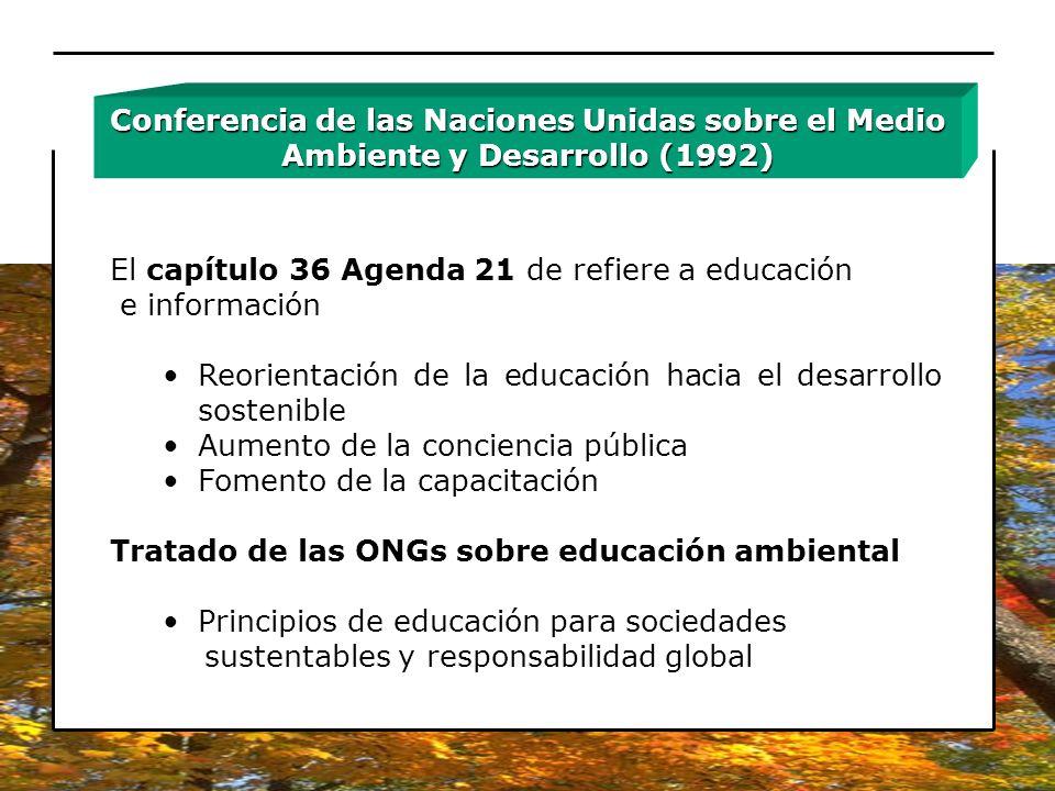 Conferencia de las Naciones Unidas sobre el Medio Ambiente y Desarrollo (1992)