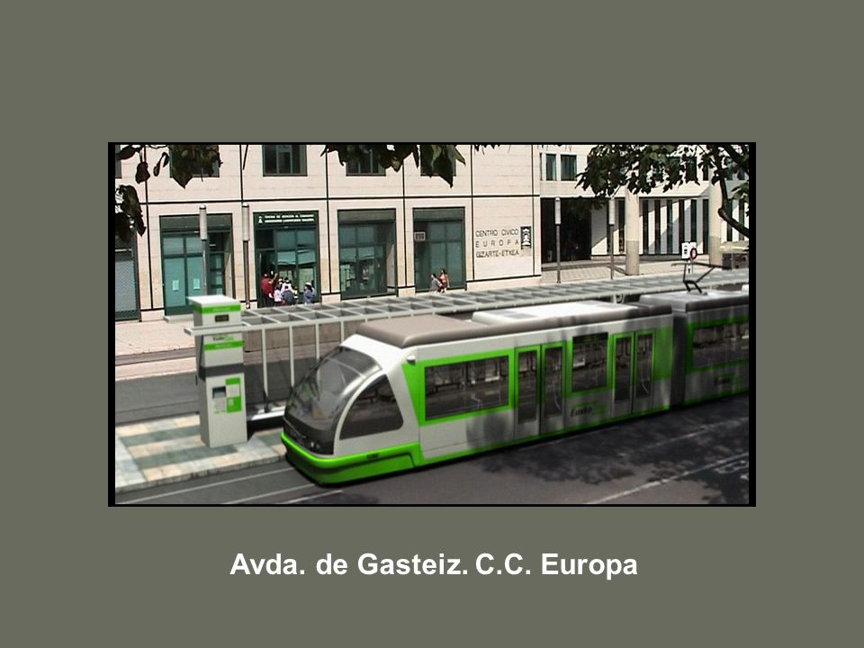 Avda. de Gasteiz. C.C. Europa