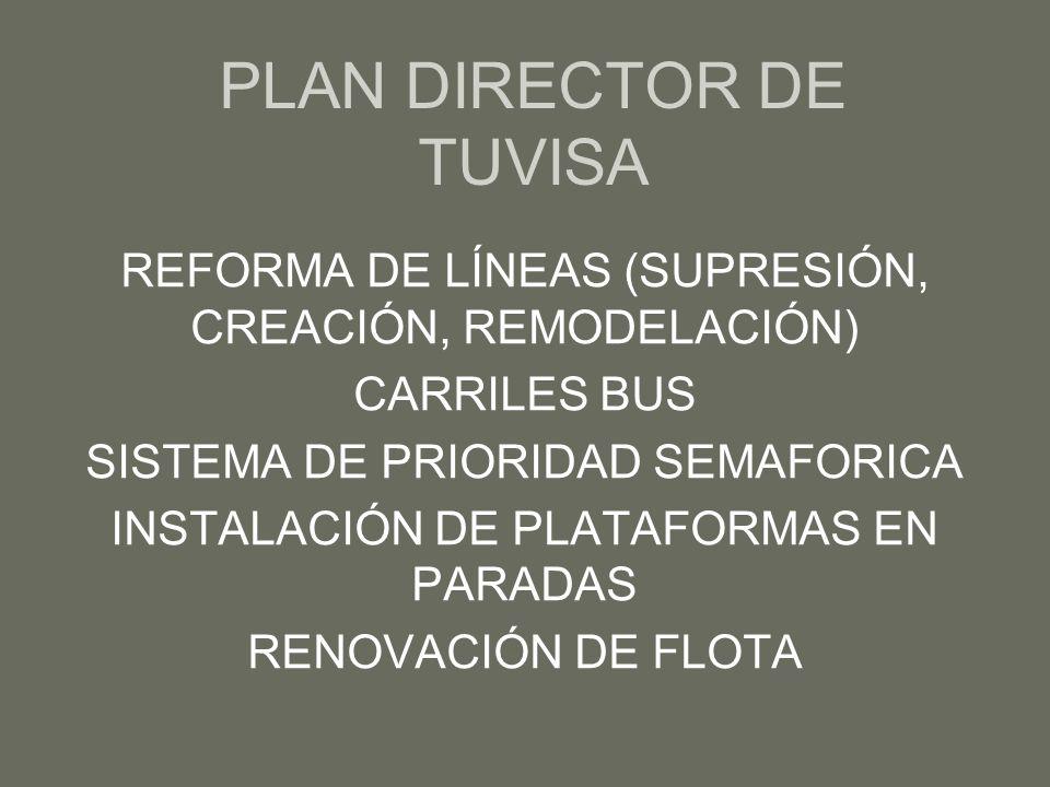 PLAN DIRECTOR DE TUVISA