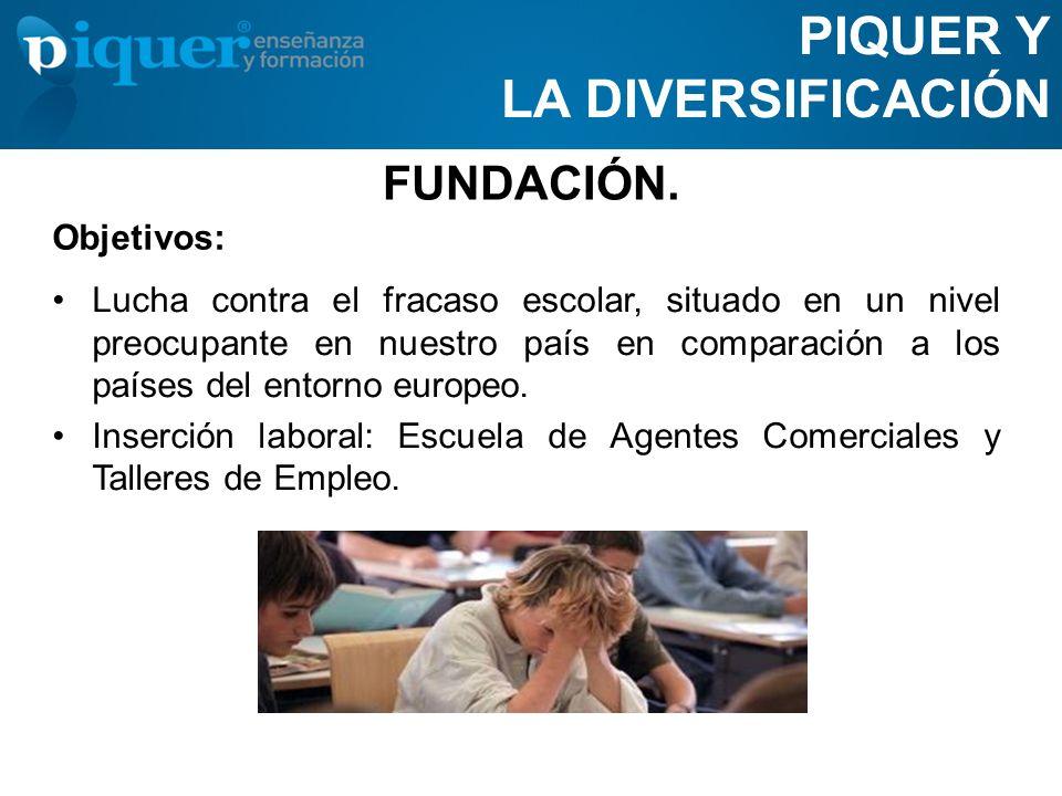 PIQUER Y LA DIVERSIFICACIÓN