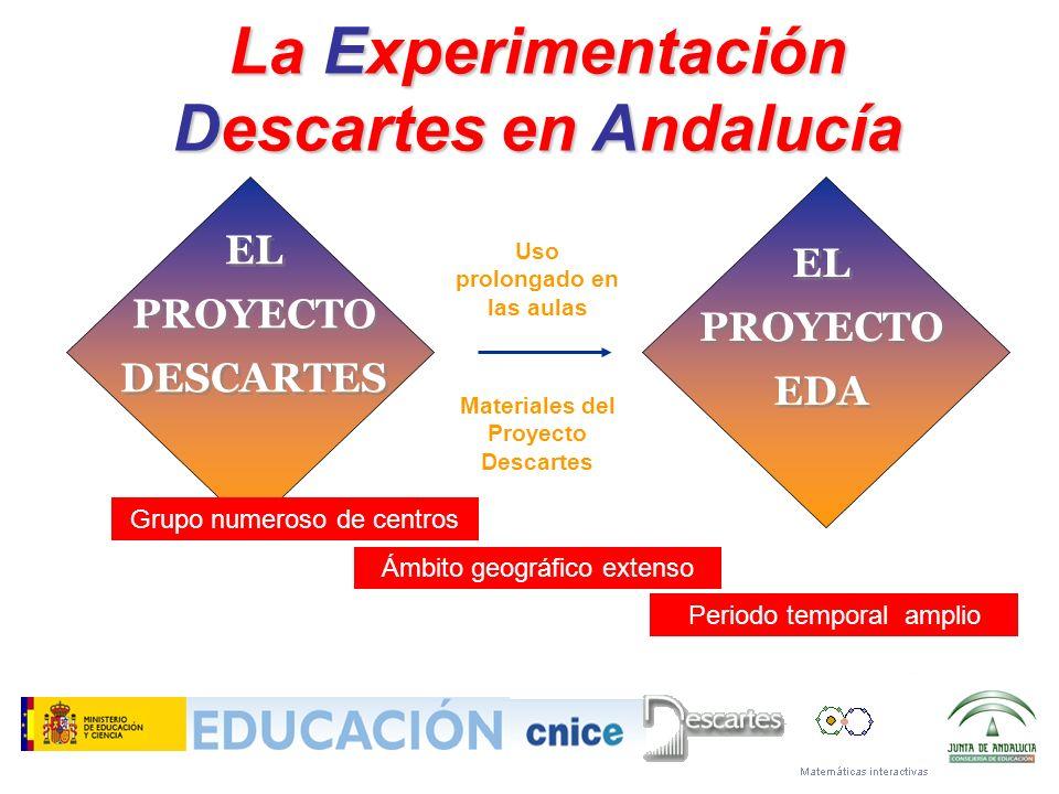 La Experimentación Descartes en Andalucía