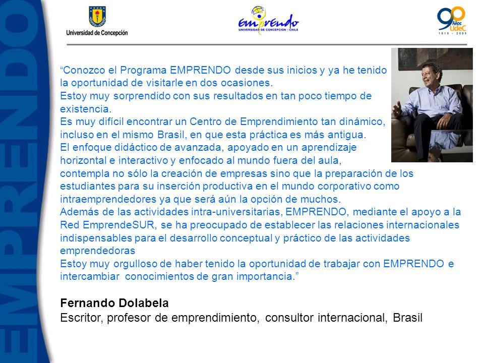 Escritor, profesor de emprendimiento, consultor internacional, Brasil