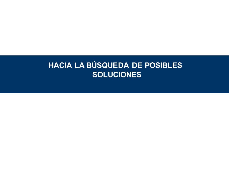 HACIA LA BÚSQUEDA DE POSIBLES