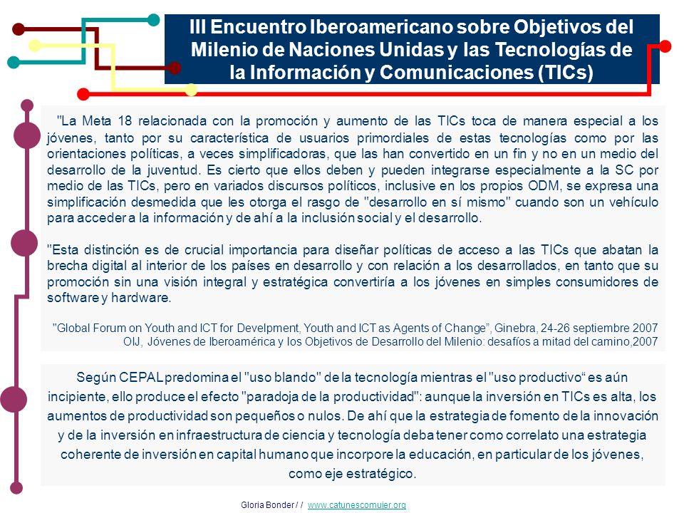 III Encuentro Iberoamericano sobre Objetivos del