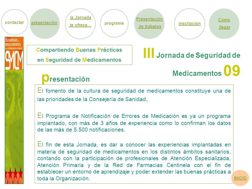 Compartiendo Buenas Prácticas en Seguridad de Medicamentos