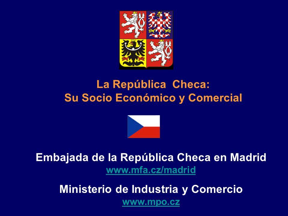 La República Checa: Su Socio Económico y Comercial