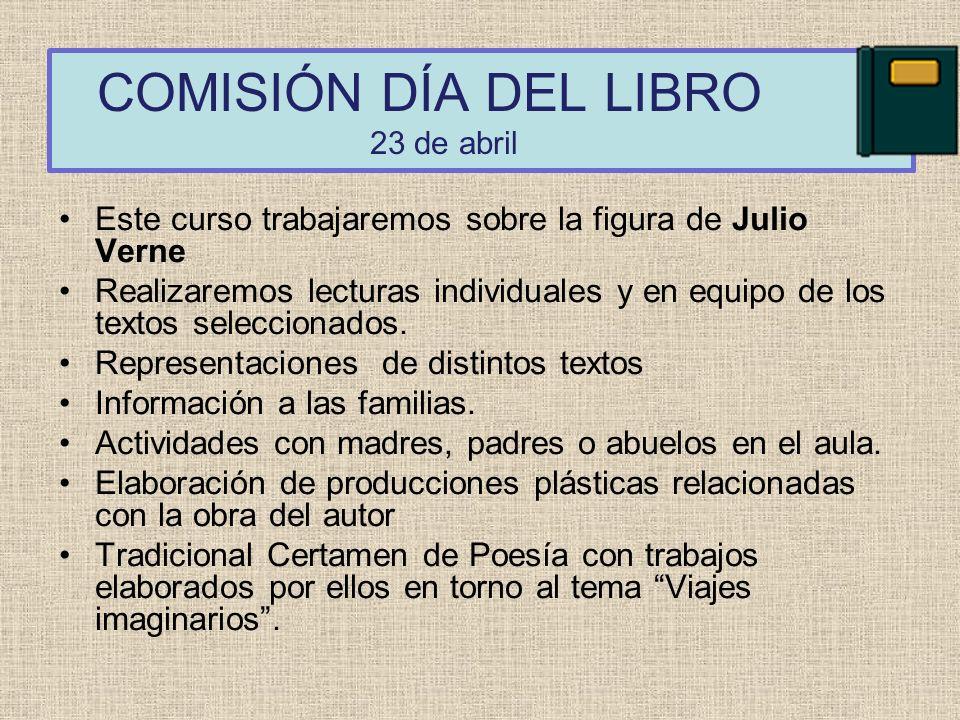 COMISIÓN DÍA DEL LIBRO 23 de abril