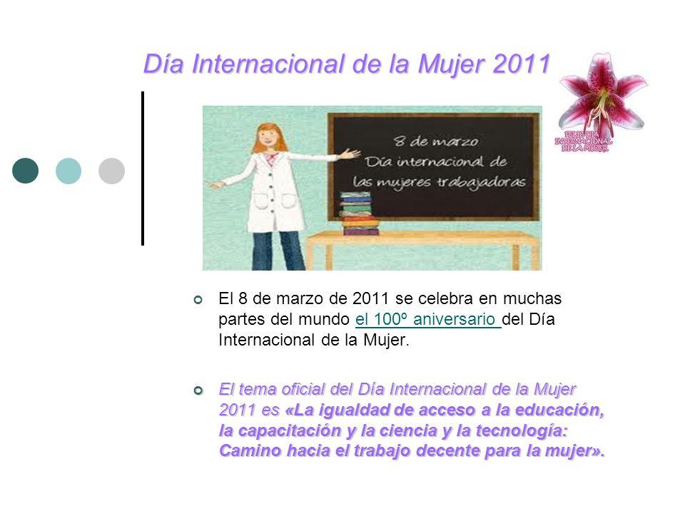 Día Internacional de la Mujer 2011