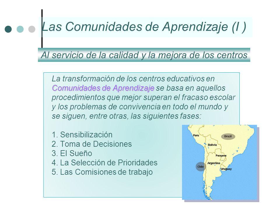 Las Comunidades de Aprendizaje (I )
