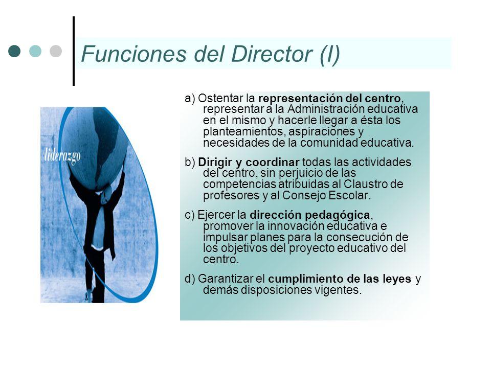 Funciones del Director (I)