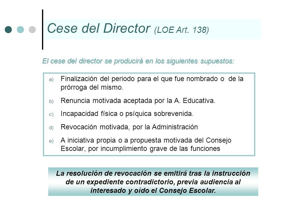 La resolución de revocación se emitirá tras la instrucción