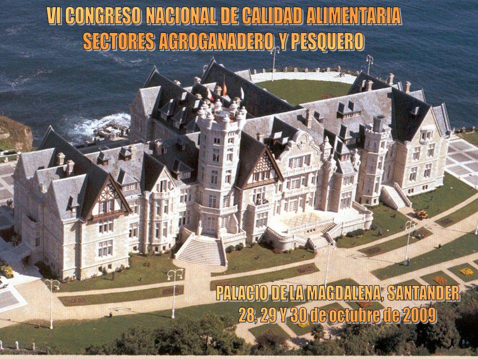 VI CONGRESO NACIONAL DE CALIDAD ALIMENTARIA
