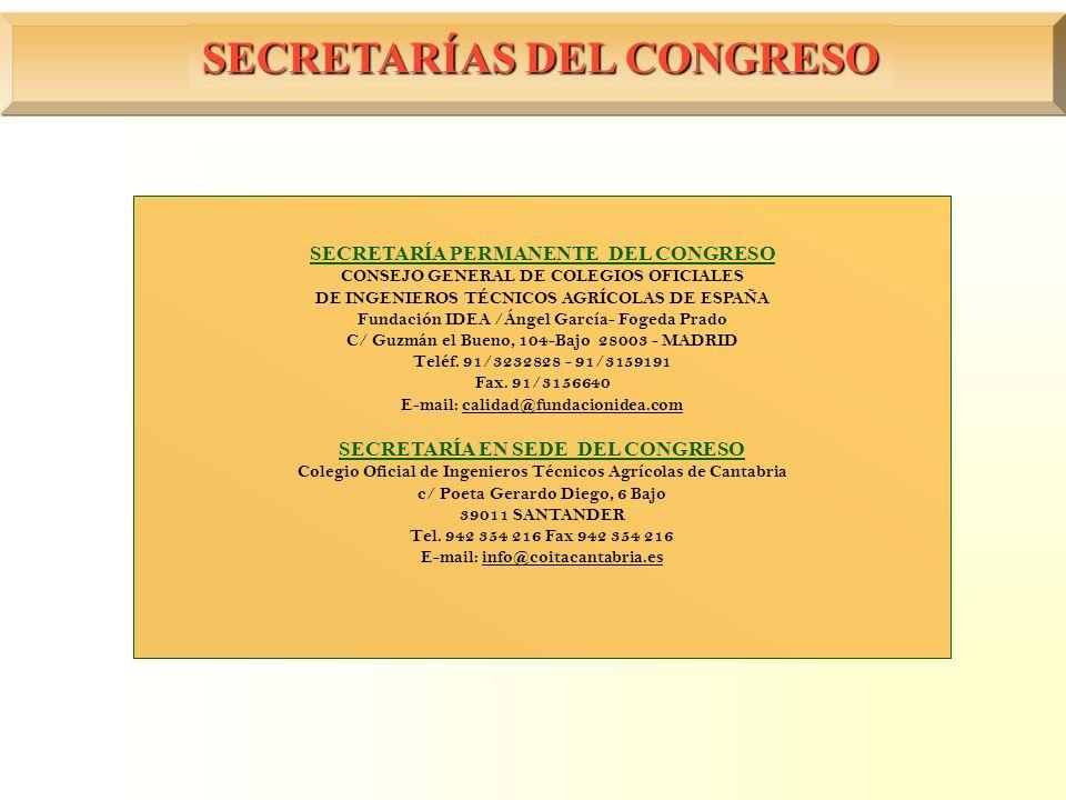 SECRETARÍAS DEL CONGRESO