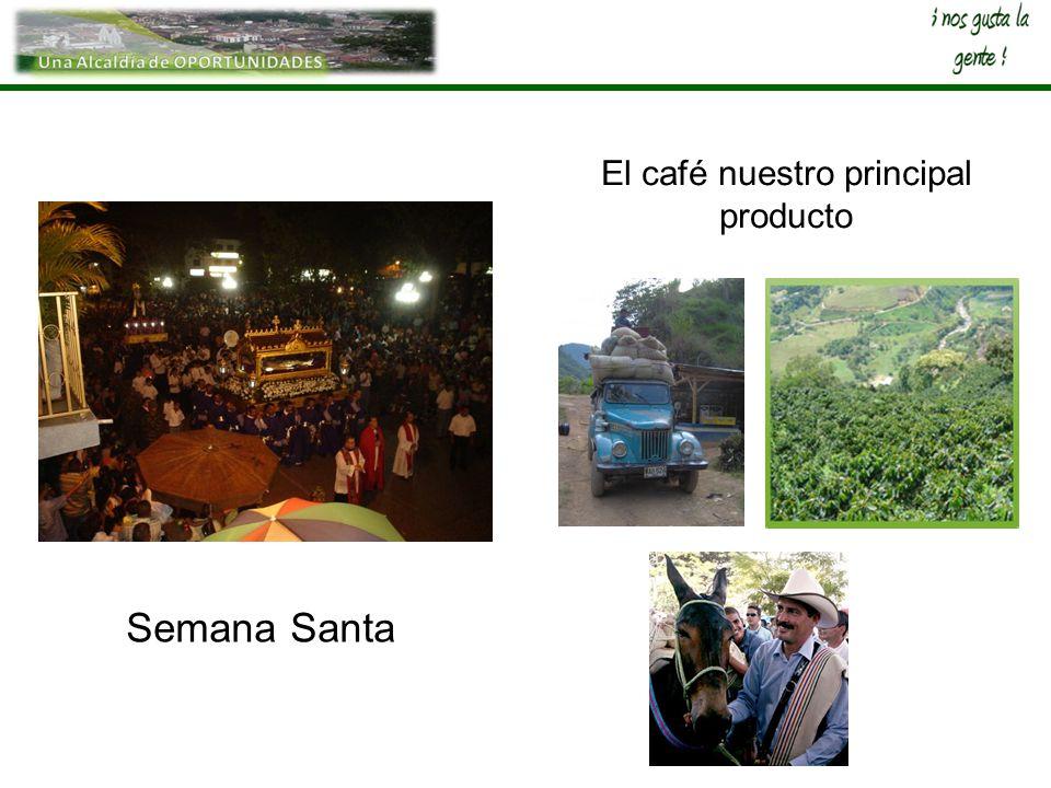 El café nuestro principal producto