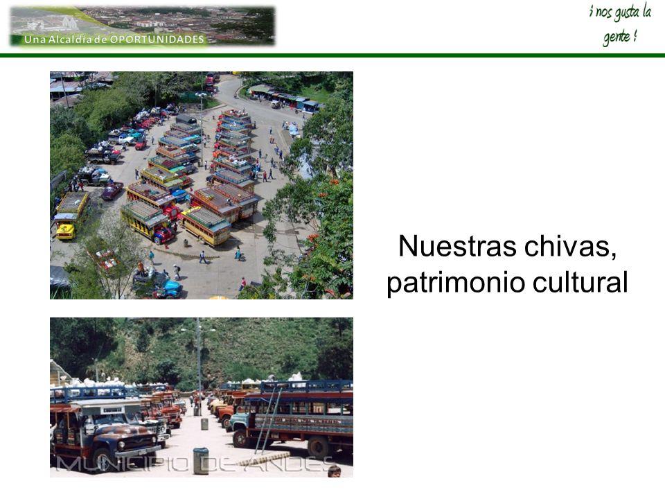 Nuestras chivas, patrimonio cultural