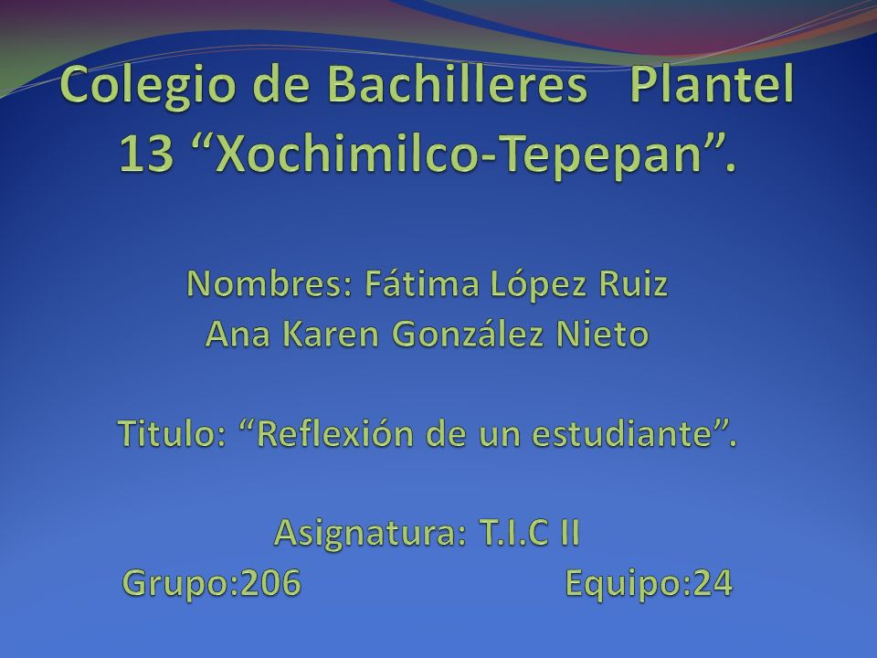 Colegio de Bachilleres Plantel 13 Xochimilco-Tepepan