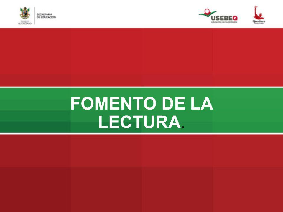 FOMENTO DE LA LECTURA.