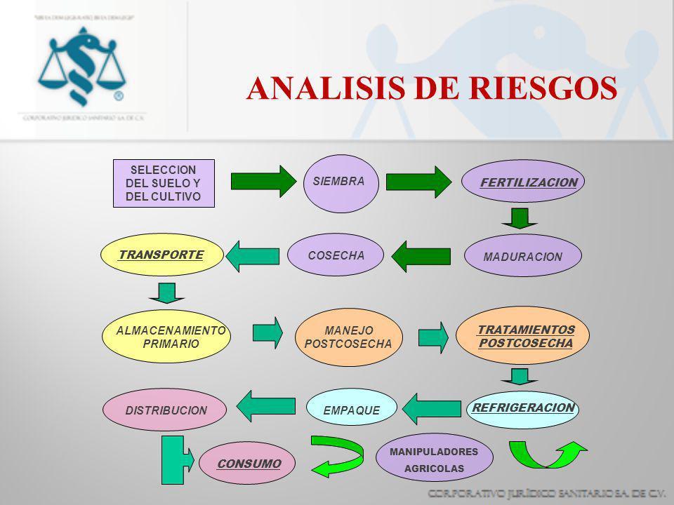 ANALISIS DE RIESGOS ALMACENAMIENTO PRIMARIO DISTRIBUCION