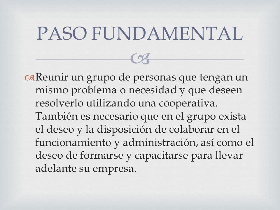 PASO FUNDAMENTAL