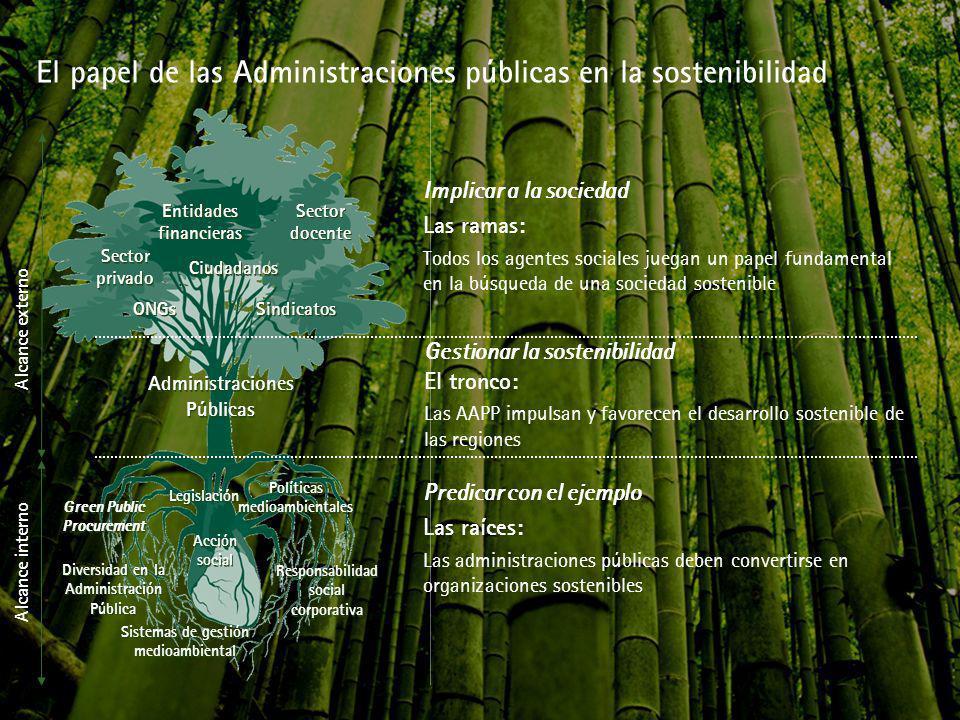 El papel de las Administraciones públicas en la sostenibilidad